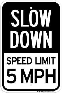 Best free 5 mph signs Reviews