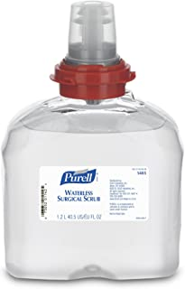 PURELL TFX Waterless Surgical Scrub, 1200 mL Scrub Refill for PURELL TFX Touch-Free Dispenser (Case of 4) - 5485-04