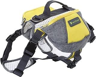 Best dog saddle bag harness Reviews