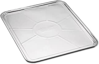 "5-Pack Disposable Foil Oven Liners by DCS Deals – Keep Your Oven Clean and Healthy – Perfect Silver Foil Drip Pan Tray for Cooking, Baking, Roasting, and Grilling- 18.5 x15.5"" inch"