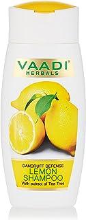 Vaadi Herbals Dandruff Defense Lemon Shampoo With Extract Of Tea Tree, 110 ml