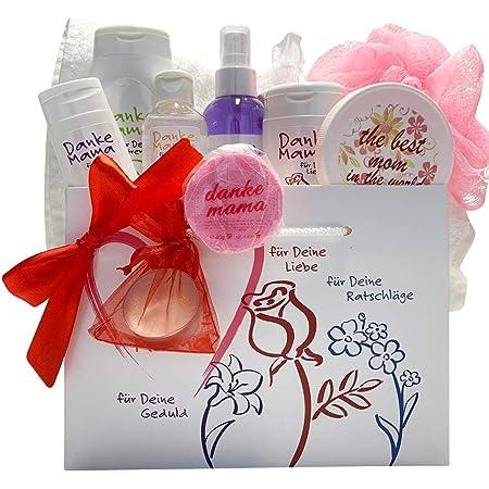 Geschenkset Danke Mama Geschenkset Für Mütter 11 Tlg Direkt Vom Hersteller Made In Germany Drogerie Körperpflege
