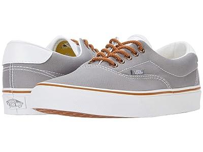 Vans Era 59 ((C&L) Gray/Floral) Skate Shoes