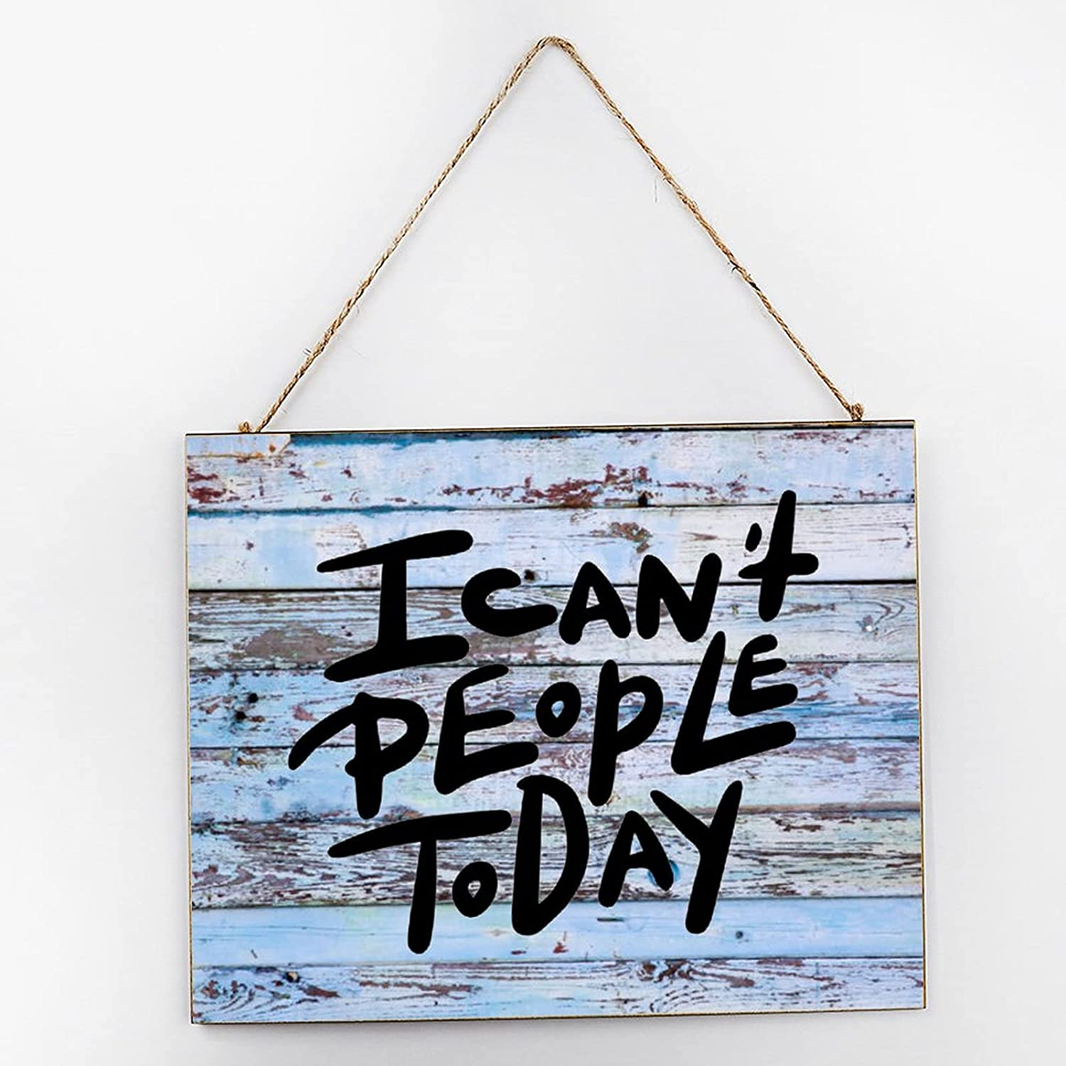 by Unbranded 12x10 Wooden Sign,I Today Nursery Large Max 78% OFF special price Can't R People
