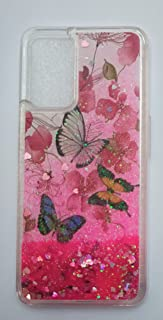 Butterflies Glitter Back Cover Protection For Phone (Oppo A16)