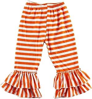orange striped pants