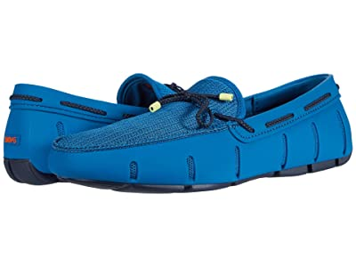 SWIMS Braided Lace Loafer (Turkish Tile/Navy) Men