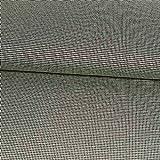 Jacquard Jersey Pepita schwarz weiß Modestoffe - Preis