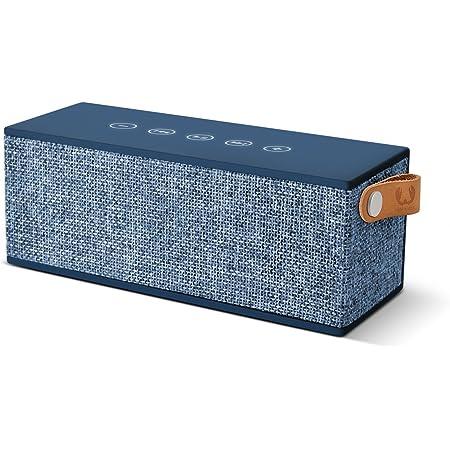 Fresh N Rebel Rockbox Brick Fabriq Edition Indigo Kabelloser Bluetooth Lautsprecher Audio Hifi