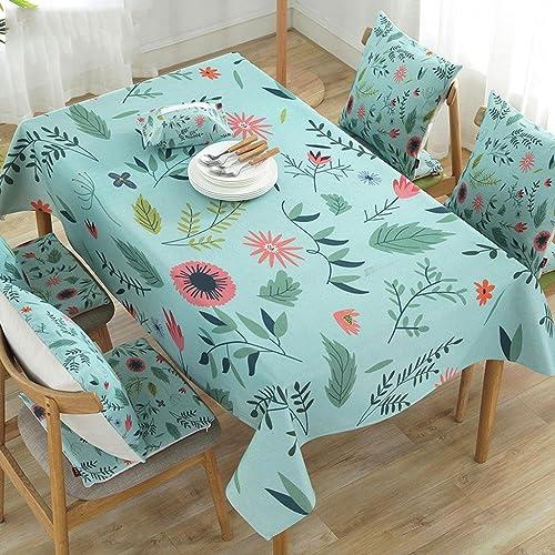 Tischdecke Baumwolle und Leinen wasserdicht Haushalts rechteckigen Couchtisch PVC Tischdecken , 003 , 140180cm