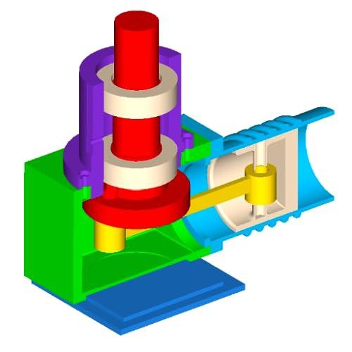 Kostenlose CAD 3D-Modellierung - Wuweido