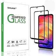 (2Pack) Beukei for Xiaomi Redmi Note 7 / Redmi Note 7 Pro Tempered Glass Screen Protector (6.3...