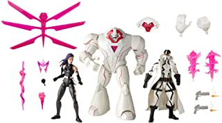 Boneco Hasbro Marvel Legends Series - Psylocke, Nimrod e Fantomex - E9298