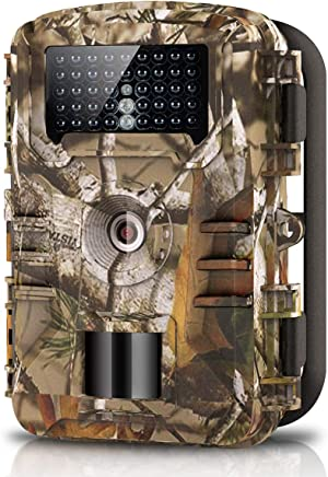 WOSPORTS Trail Camera Full HD 1080P Hunting Game Camera,...