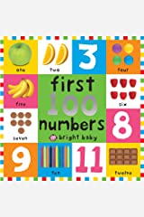 First 100 Board Books First 100 Numbers Kindle Edition