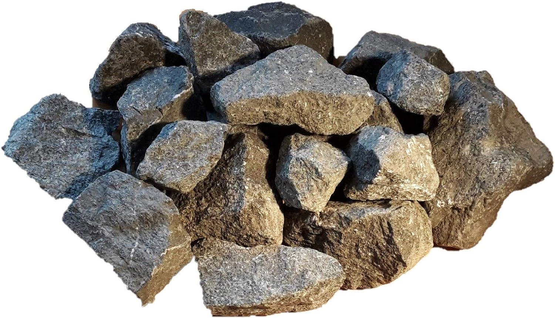 100 kg sauna stones 8 15 cm - steam sauna - onpouring stones - FREE delivery