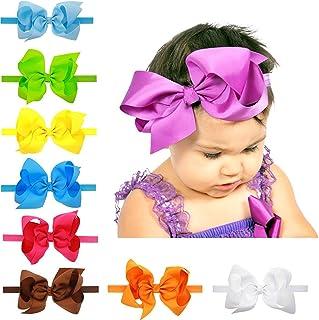 عصابة رأس للأطفال البنات الرضع من LD DRESS مع أربطة شعر للأطفال (16)