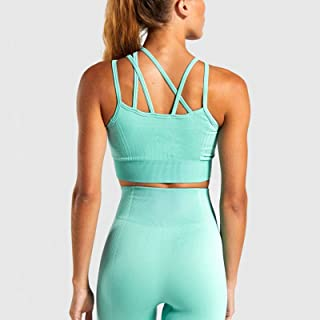 Seamless Yoga Suit Quick-Drying Running Sports Underwear High-Elastic Fitness Shorts Yoga Vest Suit Women