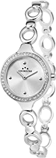 Chronostar R3753275502 Selena Year Round Analog Quartz Silver Watch