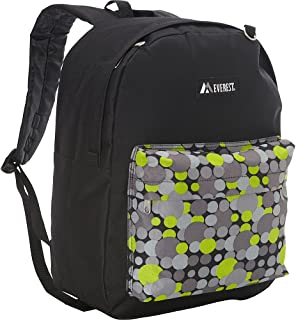 Everest Luggage Printed Pattern Backpack