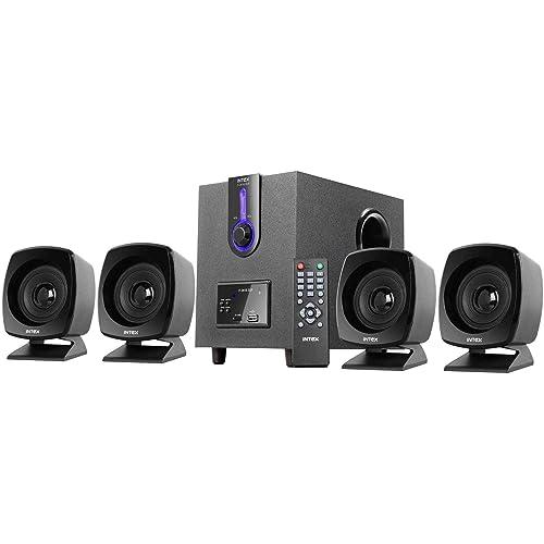 Intex IT-2616SUF-OS 4.1 Computer Multimedia Speakers (Grey)