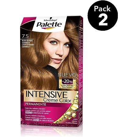 Palette Intense - Tono 7.5 Rubio Dorado Caramelo - 2 uds ...
