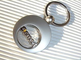 Kley & Partner Exklusiver Schlüsselanhänger mit Einkaufswagenclip 453