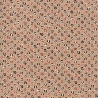 Moda Fabrics Shelbyville Jo Morton Tan Four Leaf Clover
