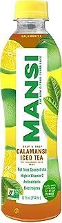 MANSI - Premium Calamansi Juice, 12 Fl oz (Calamansi Iced Tea, 12 Pack)