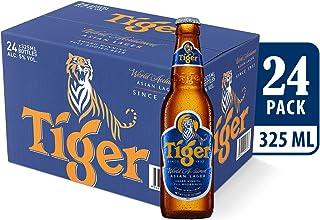 Tiger Lager Beer Bottle, 330ml (Pack of 24)