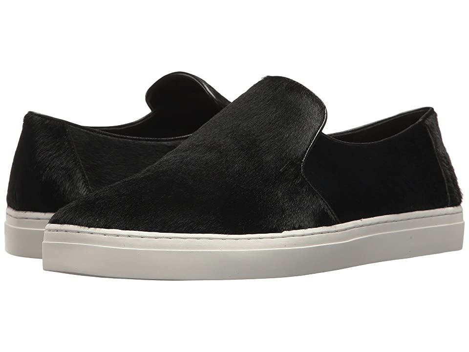 Diane von Furstenberg Budapest Calf Hair Slip-On Sneaker (Black) Women