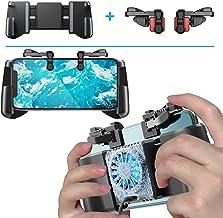 IFYOO携帯ゲームコントローラ + アクティブ物理冷凍冷却半導体放熱ファンゲームパッド,iPhone/Android スマホ 対応,Fortnitee フォートナイト,Call of Duty(COD) Mobile,PUBGG,Roblox,荒野行動に対応 トリガー LR射撃ボタン