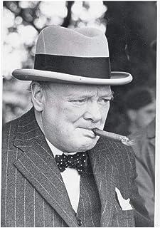 Vscdye Winston Churchill Fumer Affiches et Impressions Mur Art Toile Peinture décor à la Maison Art Affiche Impression sur...