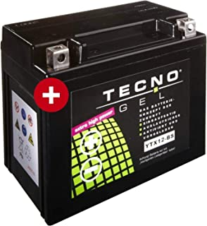 Tecno YTX12 BS Gel Batterie GTS 300 i.e. Super Sport ABS 2014 2016