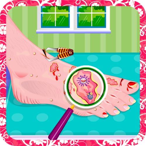 Juegos doctor cuidado de pies