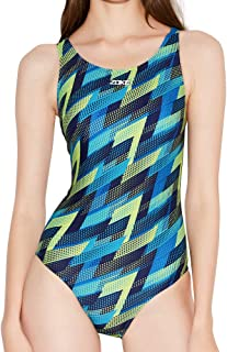 Karrack Women's One Piece Swimwear Bathing Suit Sleeveless Swimming Suit Swimsuit Sport Pro Training