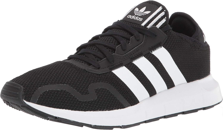 adidas Originals Men's Swift Run X Sneakers, Black/White/Black, 13 M US