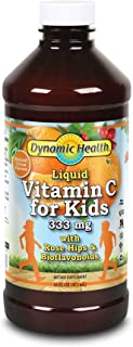 Dynamic Health Labs. 333 mg Liquid Vitamin C Herbal Supplements for Kids | 16 Ounce