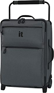 """it luggage 21.8"""" World's Lightest Los Angeles 2 Wheel Carry on"""