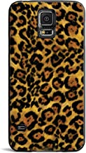 Inspired Cases - 3D Textured Galaxy S5 Case - Protective Phone Cover - Rubber Bumper Cover - Case for Samsung Galaxy S5 - Leopard Animal Print Pattern Case