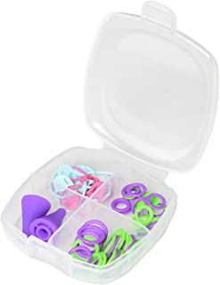 Clover CL3034 Ensemble d'accessoires de Tricot pour débutants, Plastique, Multicolore, 7,5 x 7,5 x 2,5 cm
