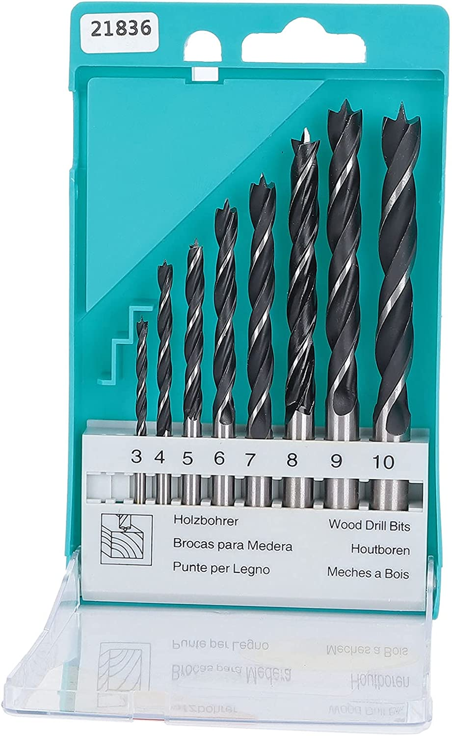 8Pcs Twist Drill Bits Round Shank Carbon A surprise price is realized Woodworking Steel High specialty shop