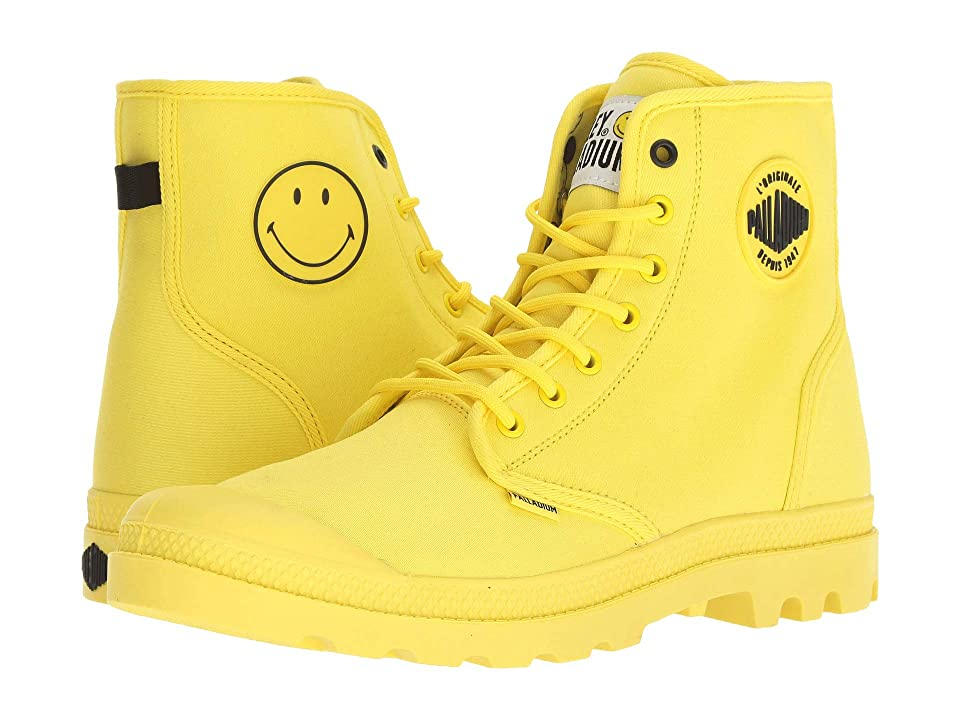 Palladium Pampa Smiley Festbag (Blazing Yellow) Lace up casual Shoes