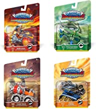 Skylanders SuperChargers Vehicle Character Pack (4) Pack Bundle: Burn-Cycle, Stealth Stinger, Shield Striker, and Thump Truck