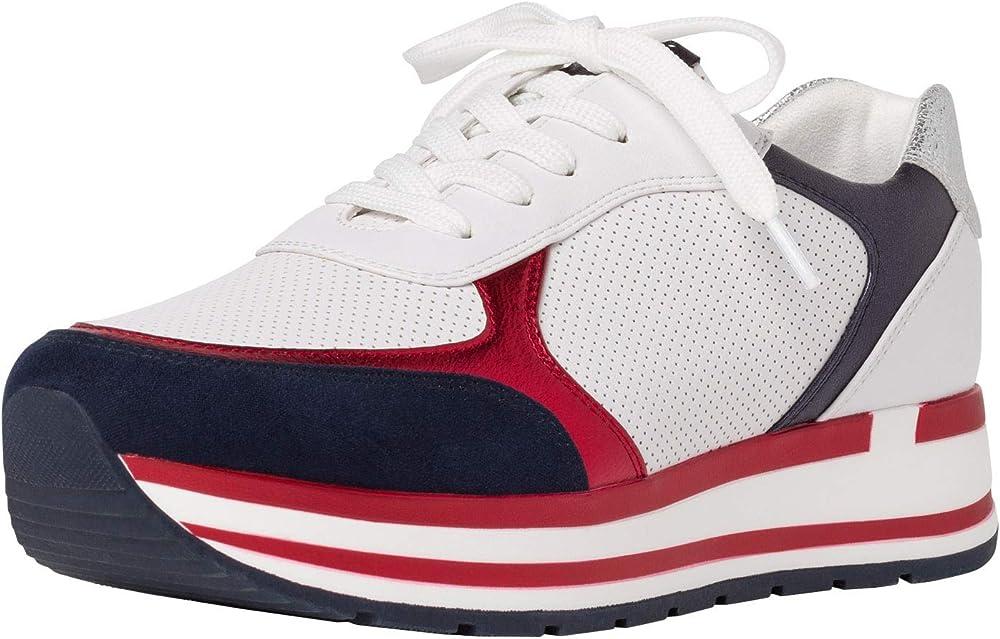Marco tozzi , scarpe da ginnastica basse per  donna,sneakers,in tela 2-2-23700-34