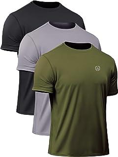 Neleus Men`s Dry Fit Athletic Performance Shirt