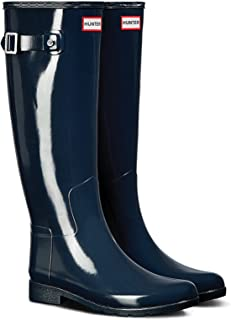 HUNTER ハンター レインブーツ W ORG REFINED GLOSS WFT1071RGL (UK3(22cm), NAVY)