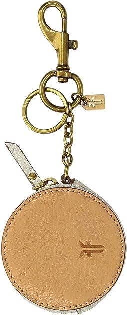 Zip Keychain Charm