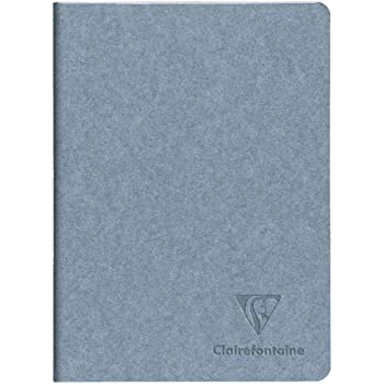 Clairefontaine 115612C Notebook Stitched Thread Ritournelle 64 Pages 14.8 x 21 cm 90 g Lined Grained Paper Cover Random Design