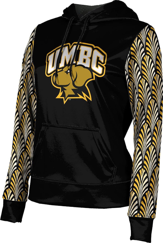 ProSphere University of Maryland Baltimore County Girls' Pullover Hoodie, School Spirit Sweatshirt (Deco)